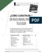 Mu-Is51_como Construir Un Rack Mural Para El Televisor