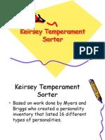 Keirsey Temperament Sorter