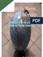 Daniel Albarrán, Así en la tierra como en el cielo (Reflexión de poeta sobre el Padrenuestro)