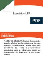 seap - exercícios lep
