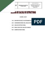Memoria Calculo Estructuras Agropecuario