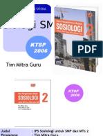 Pembelajaran Sosiologi Smp Jilid 2
