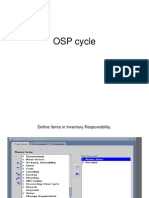 OSP CYCLE Oracle Apps