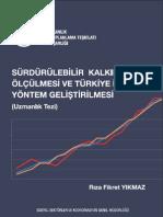 Sürdürülebilir_Kalkınmanın_Ölçülmesi_ve_Türkiye_için_Yöntem_Geliştirilmesi