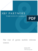 The rise of green mobile telecom towers