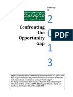 AQE 2013 Confronting the Opportunity Gap