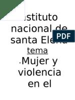 Mujer y Violencia en El Salvador