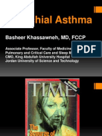 Bronchial Asthma Dental 2012