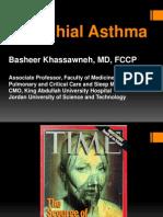 Bronchial Asthma Dental 2012