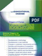 Organizational Change 2012