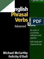 English Phrasal Verbs Advanced