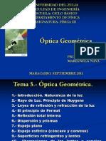 Presentación óptica geométrica1.ppt