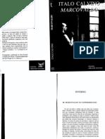 Italo Calvino (1990), Marcovaldo No Supermercado%22 in ID, Marcovaldo, Lisboa, Editorial Teorema, Pp. 109-115(1)