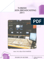 Turkish Television Broadcasting 2011