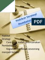 Hakikat Srategi Pembelajaran.pptx