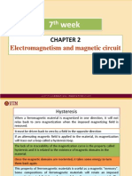 Week07 Chapter 2 Electromagnetism and Magnetic Circuit