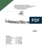 Trabajo de La Administracion Publica