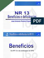 Benefícios e Deficiencias NR 13 Reprodução