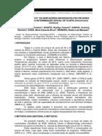 """ANÁLISE """"IN SILICO"""" DE MARCADORES MICROSSATÉLITES EM GENES ENVOLVIDOS NA DETERMINAÇÃO SEXUAL DE TILÁPIA (Oreochromis niloticus)"""