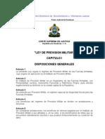 Ley de Prevision Militar (Actualizada-07)