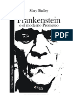 Mary Schelley Frankenstein o El Moderno Prometeo