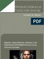 INTRODUCCIÓN A LA INVESTIGACIÓN SOCIAL