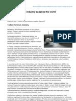 Turkish furniture industry supplies the world.pdf