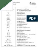 Comandos de MATLAB para Álgebra Lineal