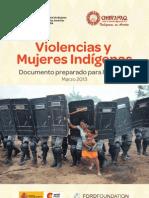 Violencias y mujeres indígenas