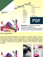 maybellinenyppt-121010085853-phpapp02