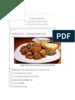 Resetas de Comida Peruana