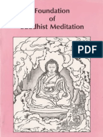Kalu Rinpche - Foundation of Buddhist Meditation