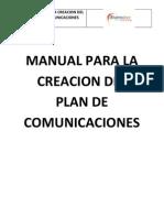 2.Manual Para La Creacion Del Plan de Comunicaciones