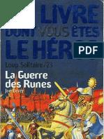 Loup Solitaire 24 - La Guerre Des Runes