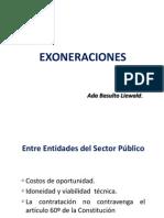 Exoneraciones Ana Basulto