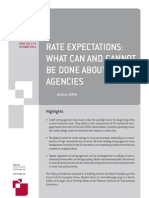 Rate Expectations- What Can and Cannot Be Done About Rating Agencies (English)
