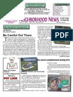 HONNA March 2013 Quarterly Newsletter