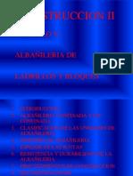 CONSTRUCCION II-CAP V- ALBAÑILERIA