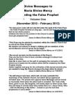 Divine Messages to Maria Divine Mercy regarding the False Prophet - Volume One (Nov 2010 - Feb 2013)