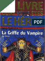 Loup Solitaire 27 - La Griffe Du Vampire