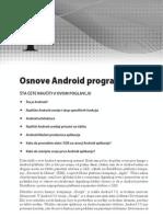 Android Programiranje - Osnove Programiranja