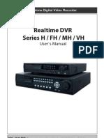Dvr h Fh Mh Vh Series Manual