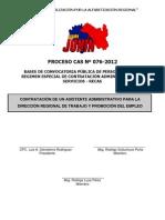 convocatoriacasN076-2012DRTPE