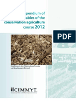 Compendium of deliverables of the conservation agriculture course 2012
