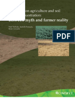 Conservation agriculture and soil carbon sequestration