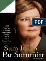 Sum It Up by Pat Summitt - Excerpt