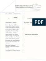 Guthrie v United States, Changes Reflected 2013-02-26 Filed