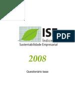 questionário-base sustentabilidade