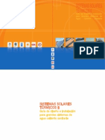 Guía de Diseño y Montaje de Instalaciones Solares Térmicas para Agua Caliente Sanitaria