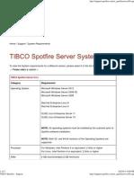 TIBCO Spotfire - Support